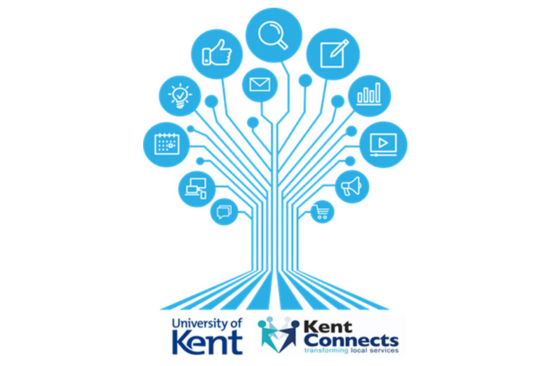 Kent Connects Accessibility Conference stylised tree